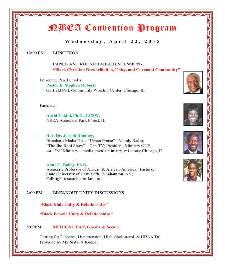Convention Program in Chronological Order - J_Page_1