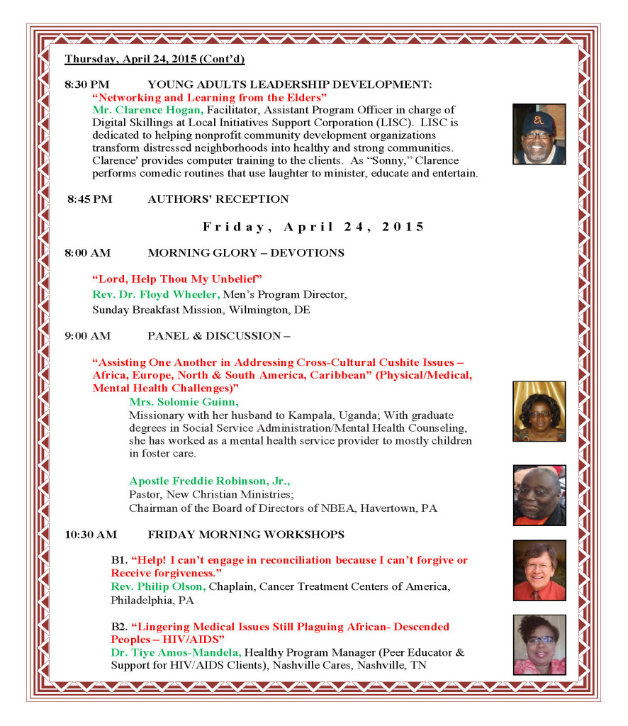 Convention Program in Chronological Order - J_Page_5